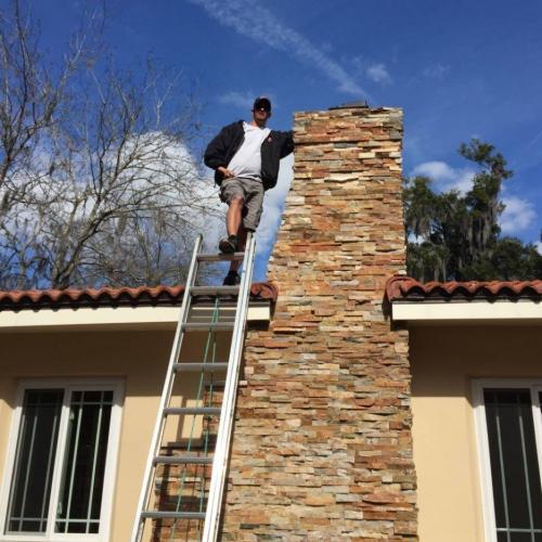 tony chimney cleaning