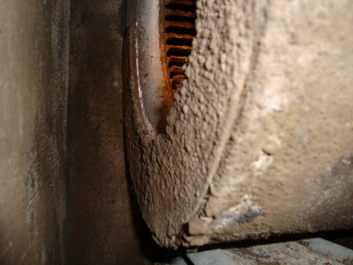 dirty duct work
